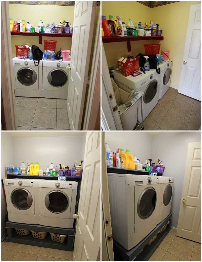 Diy Washer And Dryer Pedestal Small Laundry Room Fun