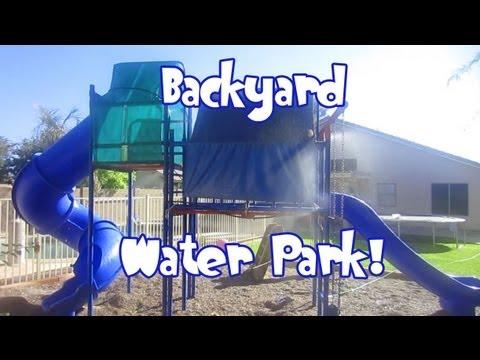 Cool Backyard Water Park