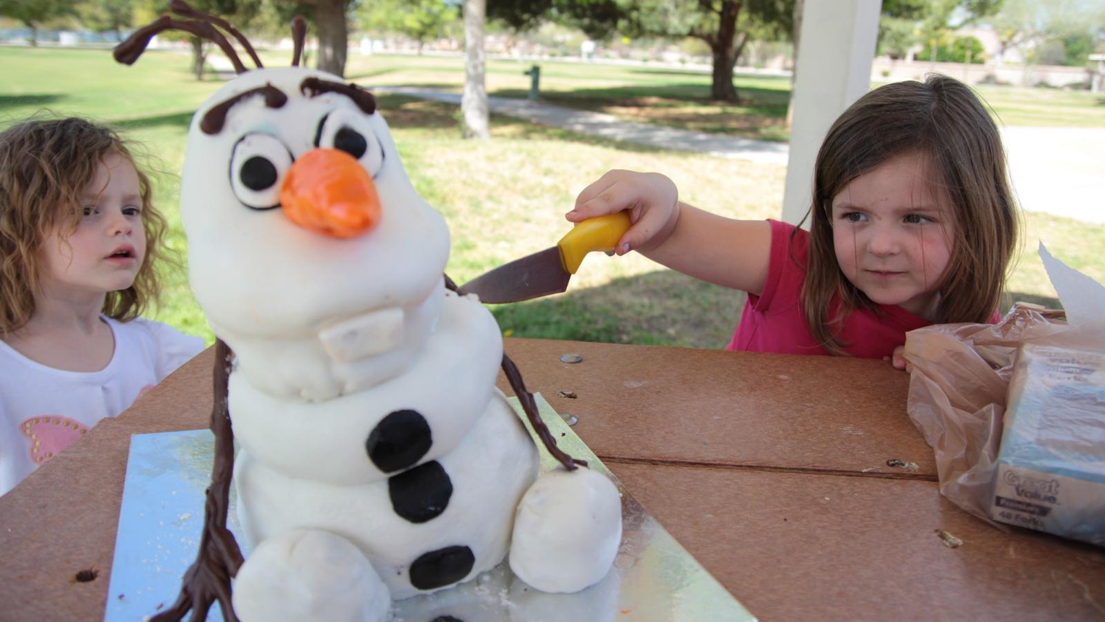 Olaf Cake Wreck