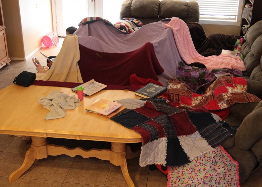 Epic Blanket Fort