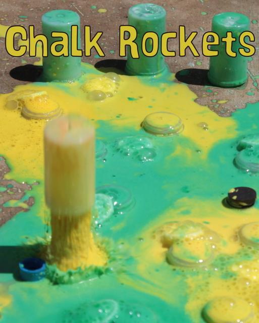 Alka-Seltzer Chalk Rockets