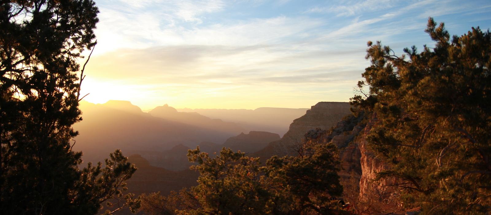 Camping at the Grand Canyon