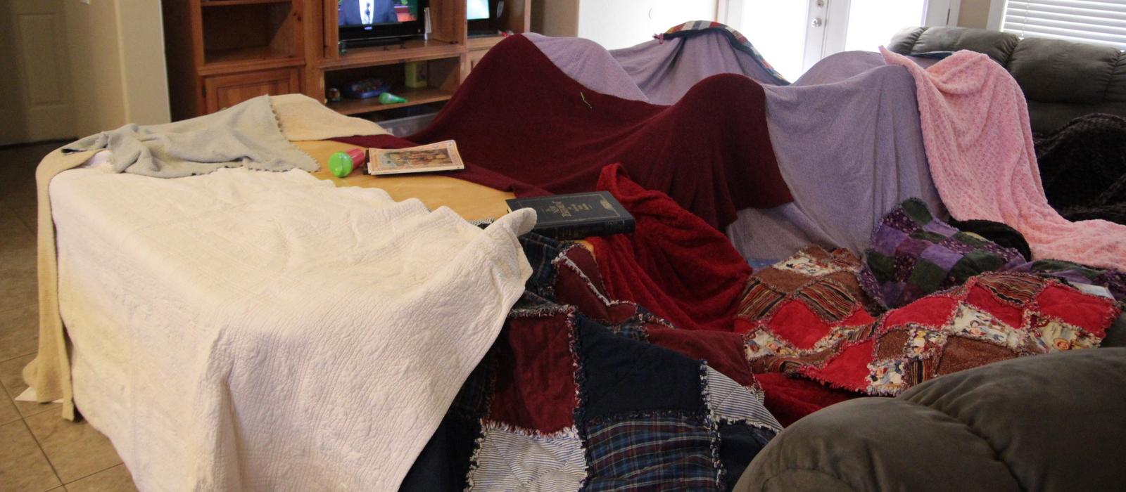 Blanket Fort Tips and Tricks