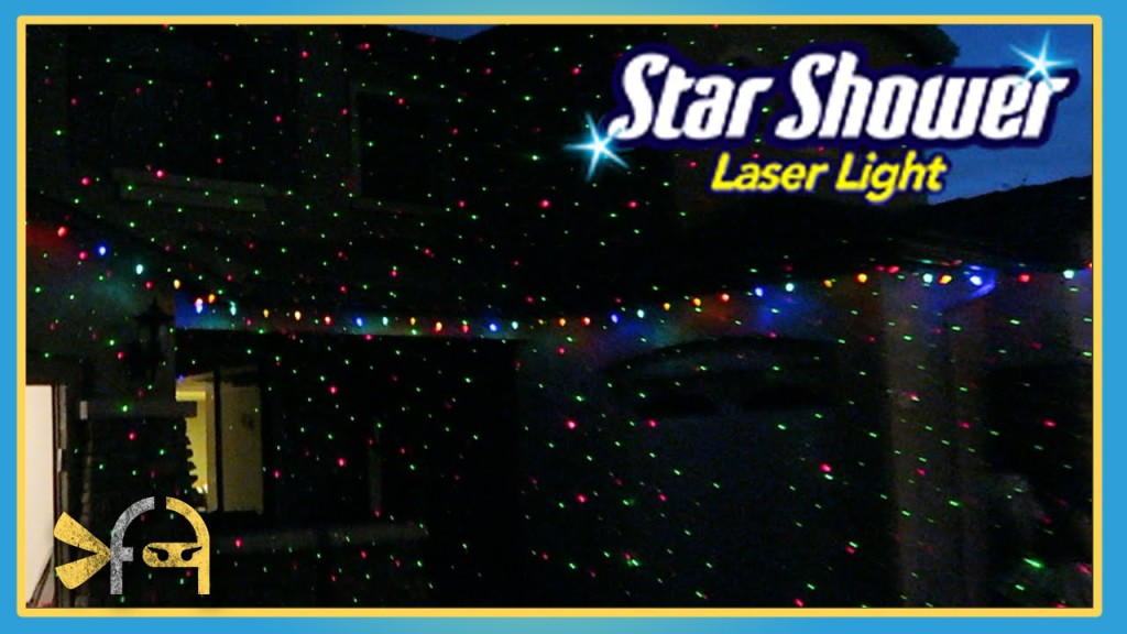 Star Shower Laser Lights Review | Fun Family Activities | 1024 x 576 jpeg 110kB