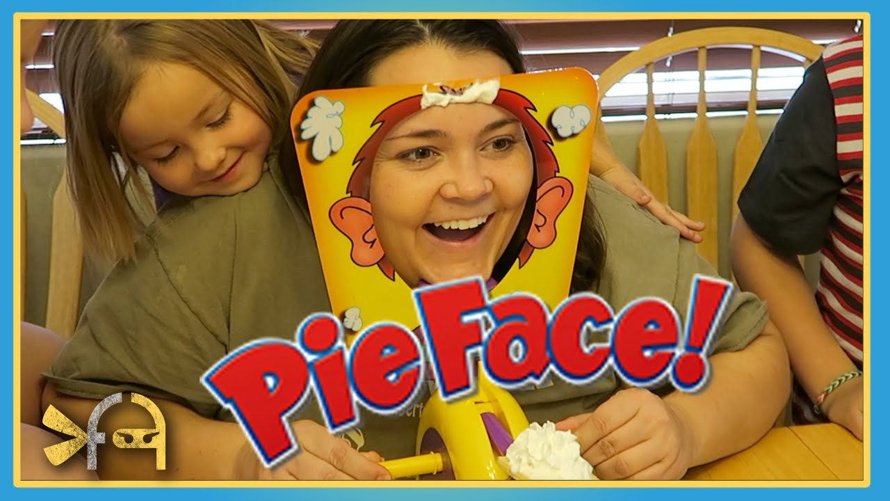 Pie Face and a DIY Pie Face