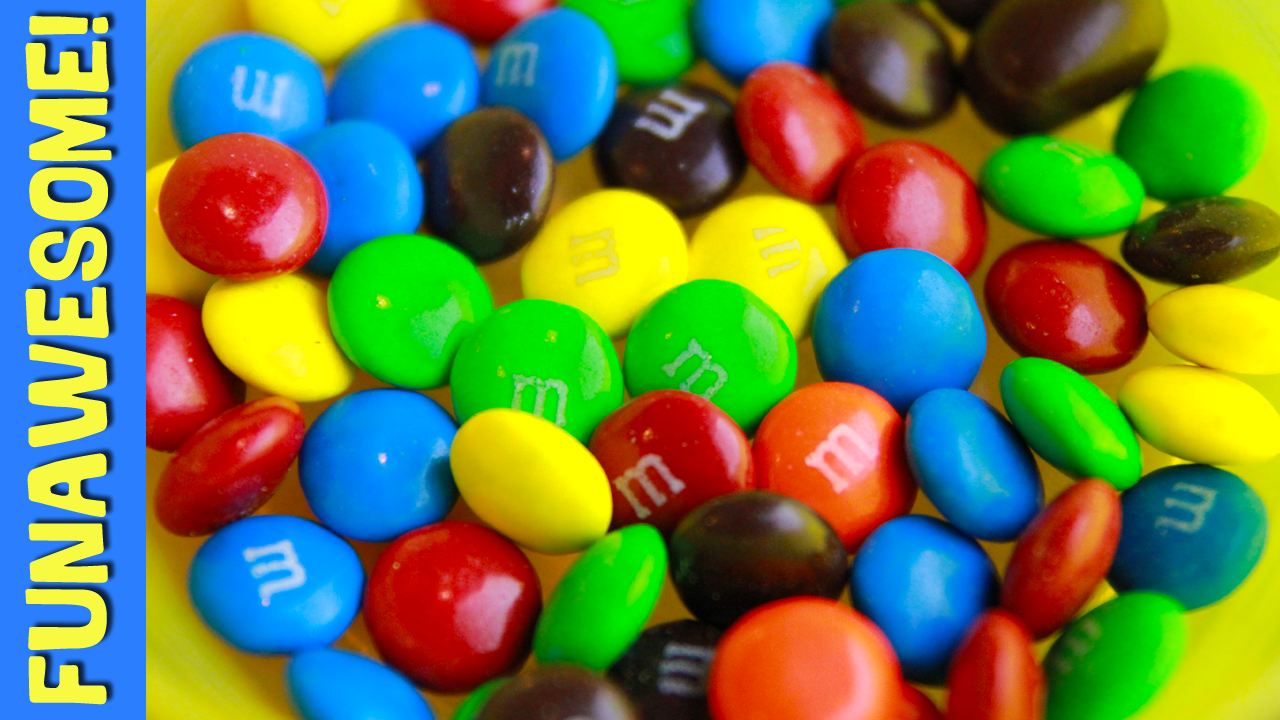 Dissolving M&M's In Water